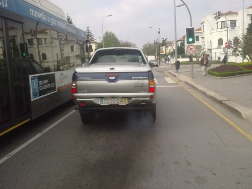 poluicão automóvel