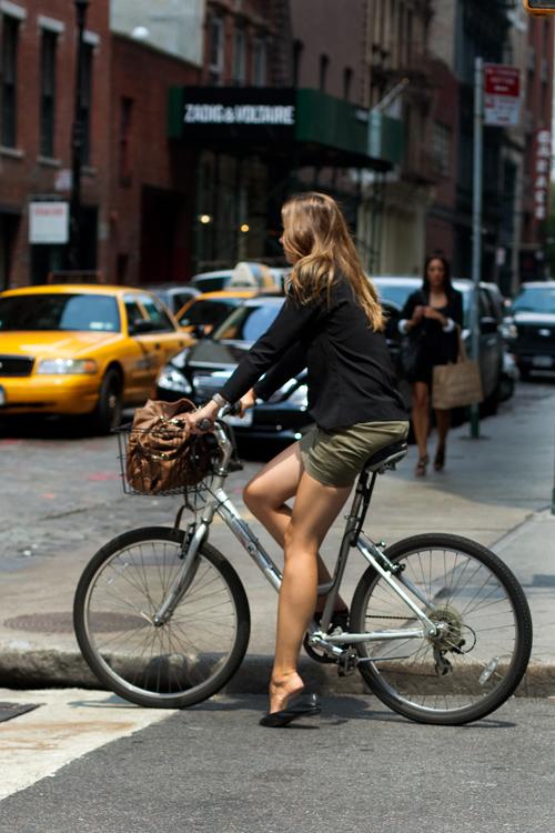 bike legs NYC