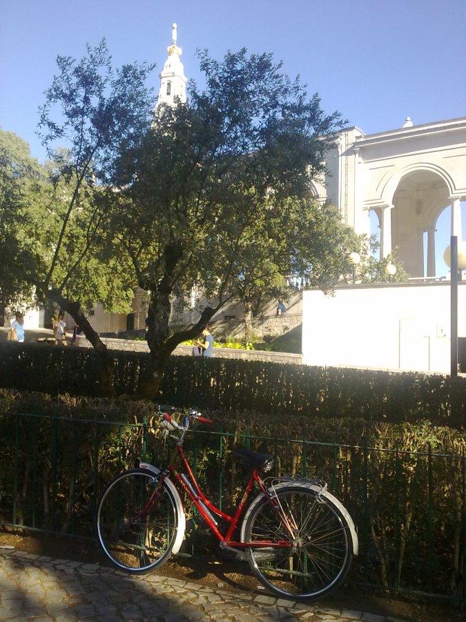 Fátima, a bicicleta do monge