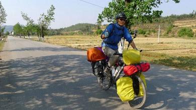 A pedalar desde a China até Portugal