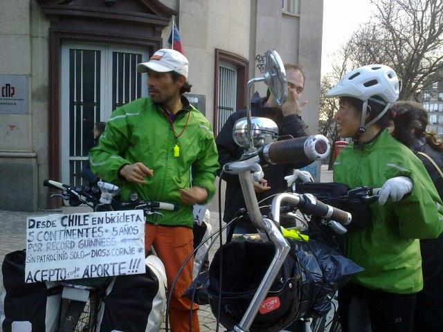 desde Chile en bicicleta