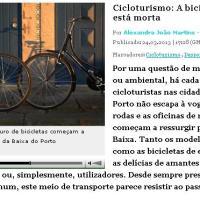 reportagem: A bicicleta não está morta
