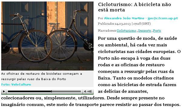 Cicloturismo a bicicleta não está morta