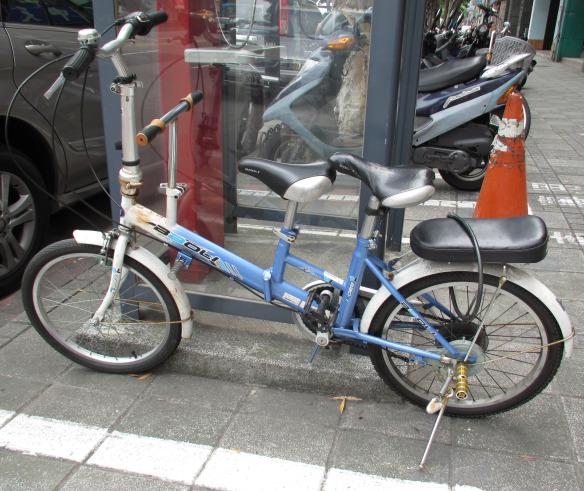 folding bike made for three