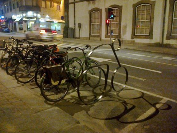 novos bicicletários da Invicta