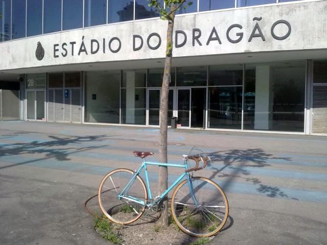 o Estádio do Dragão inaugura 150 lugares de estacionamento para bicicletas