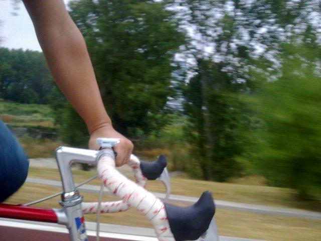 na bicicleta pós Sudoeste