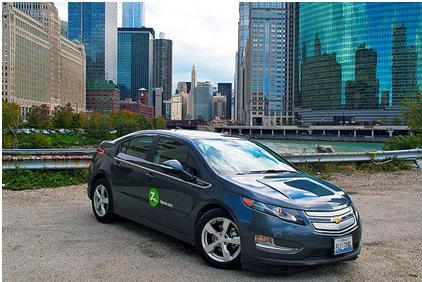 Figura 2 - Zipcar nos EUA. Fonte: http://en.wikipedia.org/wiki/Carsharing