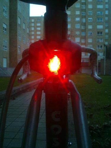 luz traseira