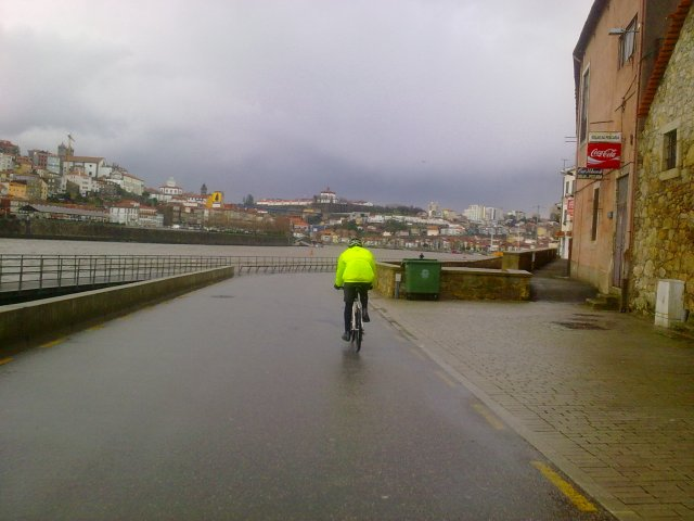 ciclistas de inverno