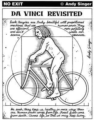 Figura 10 - Da Vinci Revisited. Fonte: http://www.andysinger.com/bikesample2.html