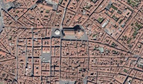 Figura 3 - Florença (Itália) …  Fonte: GoogleEarth