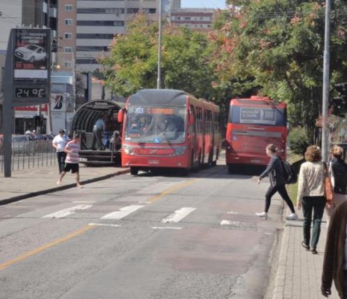 Figura 3 - Curitiba.  Fonte: Própria