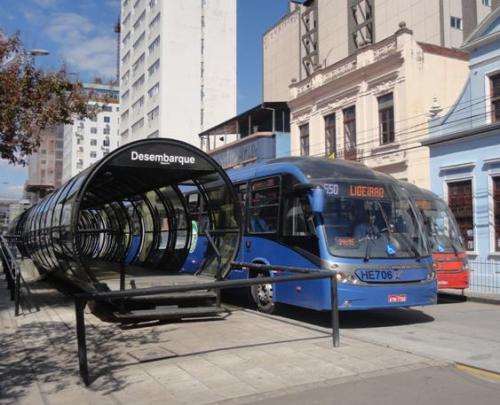 Figura 4 - Curitiba.  Fonte: Própria