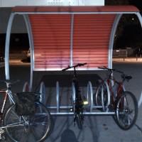 uma marina para bicicletas