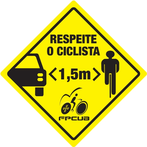 respeite o ciclista