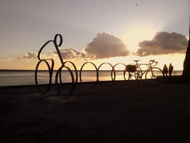 bicicletários do Passeio Alegre