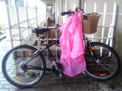 hoje no improvisado biciparque da minha instituição laboral