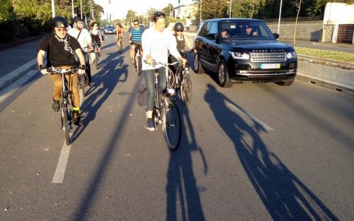 ciclistas urbanos Porto
