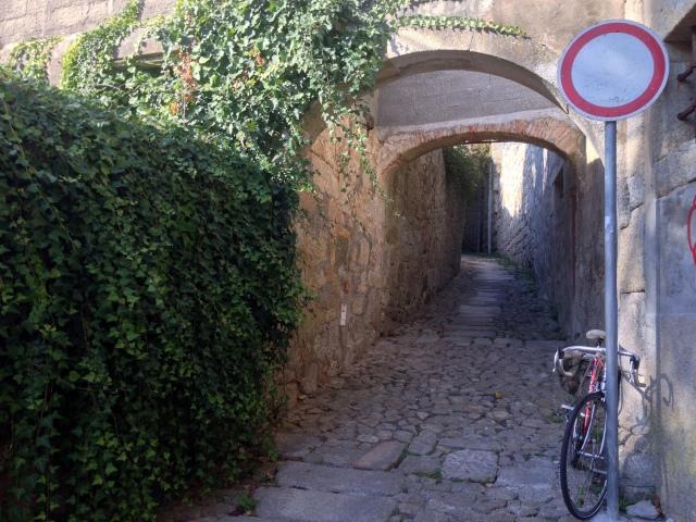 Rua Entre-Quintas ao fundo