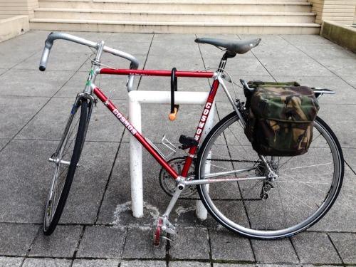 bike park improvisado