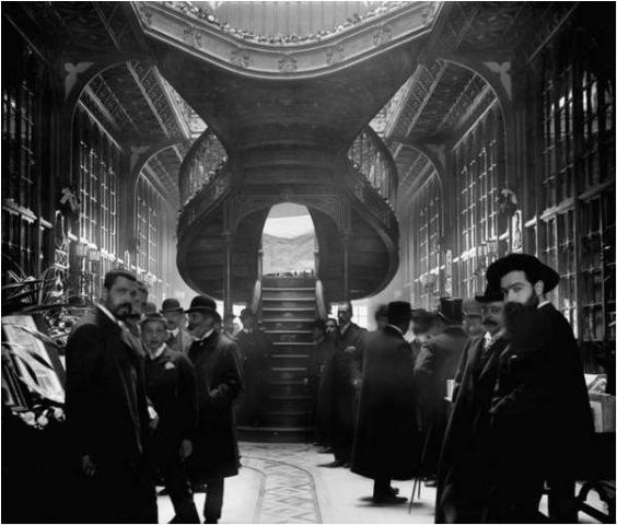 Foto Aurálio Paz dos Reis dia inauguração em 1906