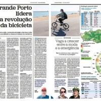"""diz que """"Grande Porto lidera a revolução da bicicleta"""""""